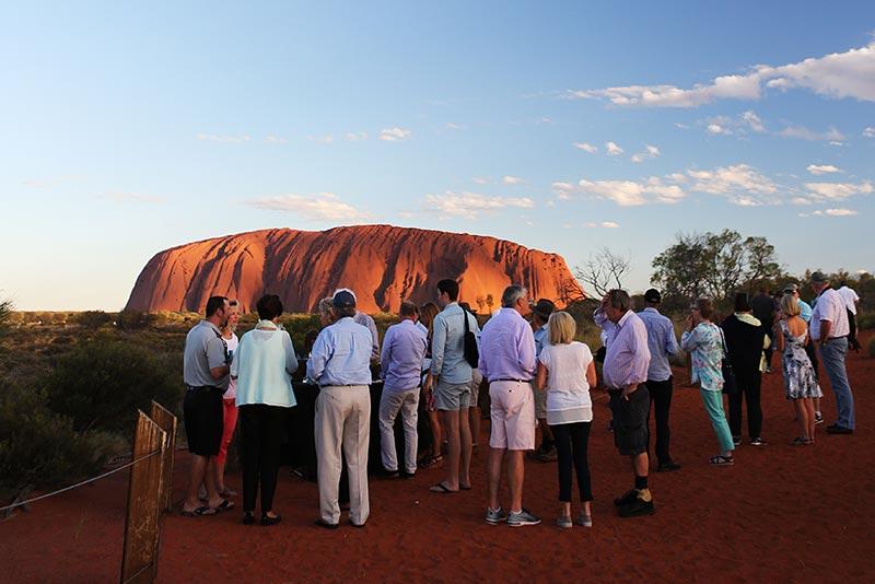 2 Uluru Sunset